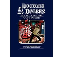 Doctors & Daleks Photographic Print