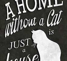 Home with Cat by robozcapoz