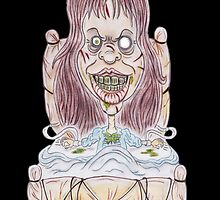 Horror Movie Possessed Caricature by MMPhotographyUK