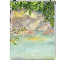 Sweet Camping Memories- Beckler River, WA iPad Case/Skin