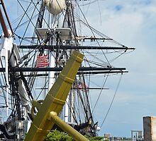 United States Ship Constitution by John Schneider