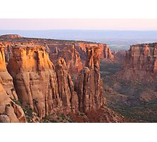 Canyons and Monoliths Photographic Print