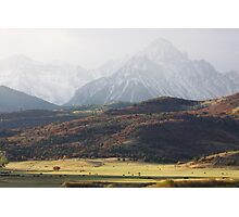 Ghost Mountains Photographic Print