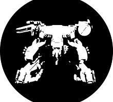 Metal Gear Rex Black Circle by PatriotShadow