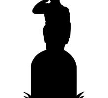Metal Gear Solid Snake Eater Silhouette by PatriotShadow