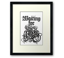 Waiting for Robin Hood Framed Print