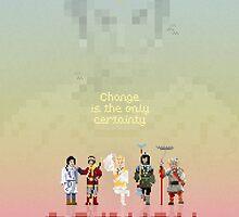 MONKEY MAGIC PIXEL by Greg Stedman