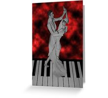 LETS FACE THE MUSIC AND DANCE /PICTURE / CARD Greeting Card