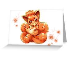 Vulpix Greeting Card