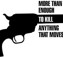 Metal Gear Solid Revolver Ocelot  by PatriotShadow