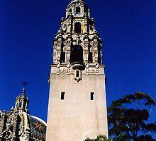 Minaret, Balboa Park, San Diego by Maggie Hegarty