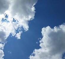 Clouds in the Blue Sky by RPBURCH
