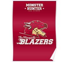 Monster Hunter All Stars - The Minegarde Blazers Poster