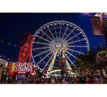 Niagara Falls Ferris Wheel Photographic Print