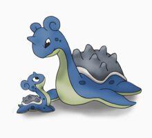 Lapras Pokemon Mother & Child by MysticSanctuary