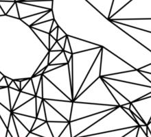 Wire Skull Sticker