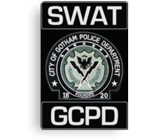 Gotham City SWAT Canvas Print