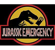 Jurassic Emergency Photographic Print