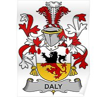 Daly Coat of Arms (Irish) Poster