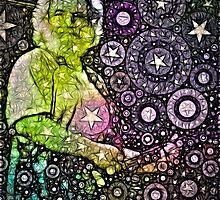 Jerry Garcia  by Fros Deen