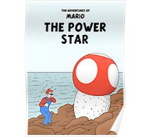 The Adventures of Mario - The Power Star Poster