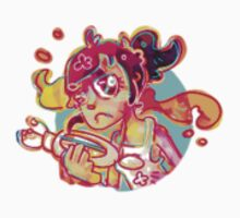 Chell - stickers by Cheapcookiez