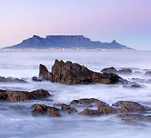 Dawn Over Bloubergstrand, Cape Town, South Africa by SeeOneSoul