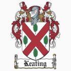 Keating Coat of Arms (Irish) by coatsofarms