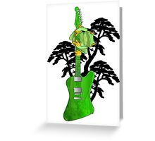green music Greeting Card