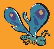 grumpy butterfly by greendeer