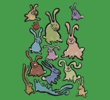 13 bunnies by greendeer