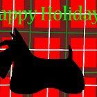 Scottie Dog 'Happy Holidays' by archyscottie