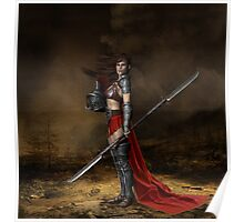 Bellona, Roman Goddess of War Poster