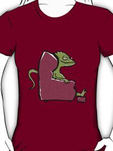 the comfy bearded dragon T-Shirt