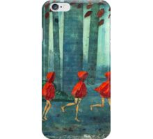 5 lil reds 1 iPhone Case/Skin
