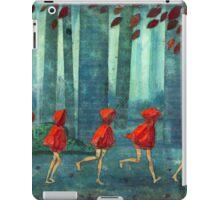5 lil reds 1 iPad Case/Skin