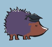 educated hedgehog Kids Clothes