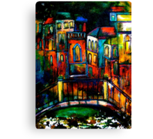 The Trip to Venice Canvas Print