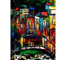 The Trip to Venice Photographic Print