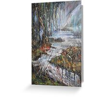 Along the River II Greeting Card
