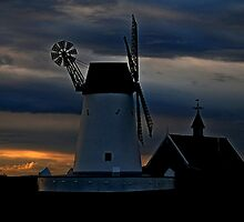 Windmill at Lytham St Annes, Lancaster, UK by Photography  by Mathilde