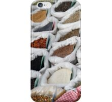 spices at the market iPhone Case/Skin