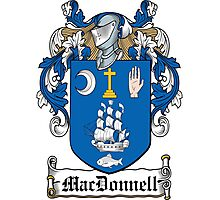 MacDonnell Coat of Arms (Clare and Connacht) Photographic Print