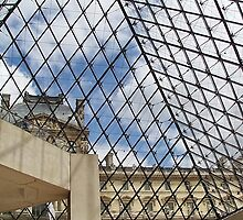 From Inside the Louvre Paris, France by AnnDixon