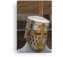 iron armor Canvas Print