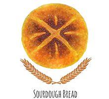 The Sourdough Bread by haidishabrina
