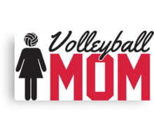 Volleyball Mom Canvas Print
