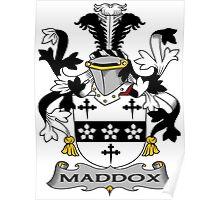 Maddox Coat of Arms (Irish) Poster