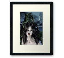 Mistress of the night Framed Print