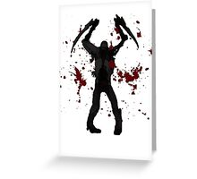 DeadSpace Necromorph [Bloody Slasher] Greeting Card